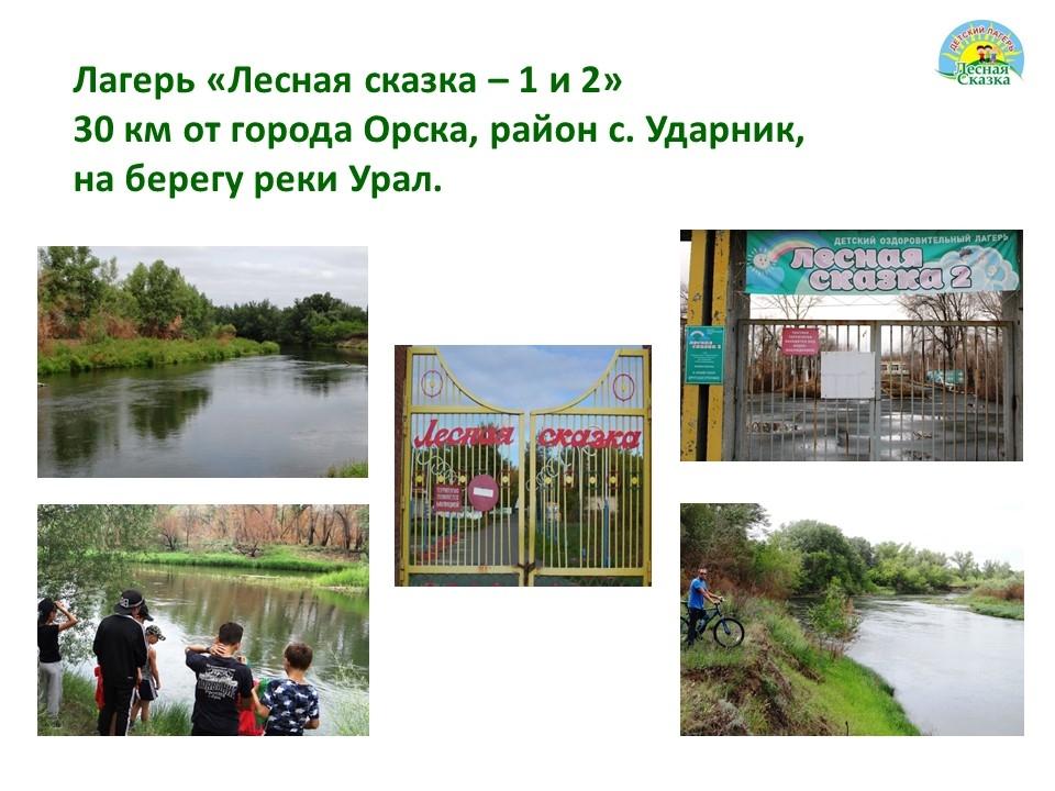 Презентация детского лагеря Лесная сказка город Орск